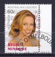 Australia 2013 Legends Of Music 60c Kylie Minogue CTO - 2010-... Elizabeth II