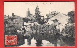 CPA: Chalus (87)  Quartier Du Fort - Chalus