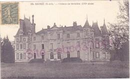 BAUGE Château De Grésillon (XVIe Siècle) - Non Classés