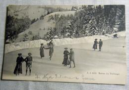 SUISSE SVIZZERA SWISS ---  GENEVE SCENE DE PATINAGE - GE Genève
