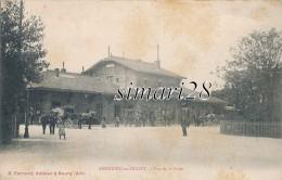 AMBERIEU-EN-BUGEY - VUE DE LA GARE - Altri Comuni