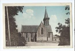 Carte Postale - Le Vieux-Ville - L'Eglise - Le Châtellier