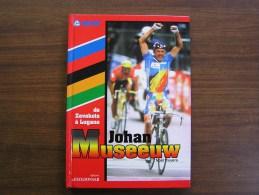 JOHAN MUSEEUW De Zevekote à Lugano Truyers Noël Cyclisme Cycliste Belge Belgique Vélo Course Wielrenners - Sport