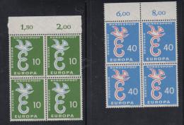 Germania 1958 - Europa CEPT ** MNH - Europa-CEPT