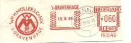 Netherlands Nice Cut Meter Wim Muller & Co Den Haag 18-3-1965 - Transportmiddelen