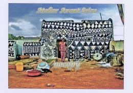 2959-tiebele, Dans La Cour D´une Maison Gurunsi En Pays Kassena - Burkina Faso