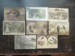 Lot De Belles Fantaisies (Lot N°2445) (8) - Postkaarten