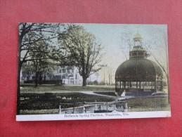 - Wisconsin> Waukesha  Bethesada Spring Pavilion      Ref 1542 - Waukesha