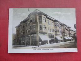 - Wisconsin> Waukesha  Ovitt Block  Ref 1542 - Waukesha