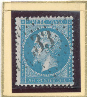 N°22 ETOILE DE PARIS CHIFFRE 33. - 1862 Napoleon III