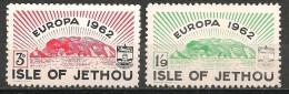 Isle Of Jethou  2 Stamps   MNH -neuf-postfris - Europa-CEPT
