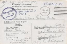 LT4239  Correspondance Des Prisonniers De Guerre - War 1939-45