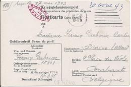 LT4240  Correspondance Des Prisonniers De Guerre - Guerre 1939-45