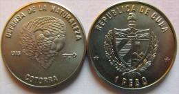 Cuba 1 Peso 1985 Cotorra UNC KM# 128 - Cuba