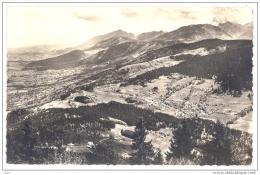 CPSM PF  74 - BOEGE (Haute Savoie) - 731. Ermitage De Notre Dame Des Voirons. Vue Sur Le Chablais Et Le Col De Saxel - Boëge