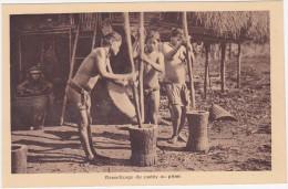 Décorticage Du Paddy Au Pilon - Vietnam