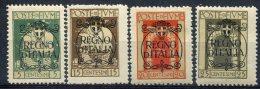 Italie   Fiume  (1924)           Divers Neufs Avec Charnières - Occupation 1ère Guerre Mondiale