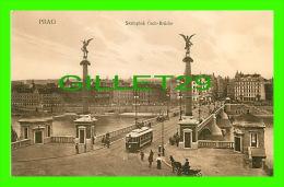 PRAG, TCHÉQUIE - SVATOPLUK CECH-BRUCKE - ANIMATED - - Tchéquie