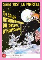 CPM   SAINT JUST LE MARTEL   11eme salon international du dessin d humour