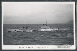 - PHOTO BATEAUX - Sous-Marin Saphir - Unterseeboote