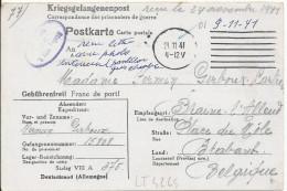 LT4264  Correspondance Des Prisonniers De Guerre - War 1939-45