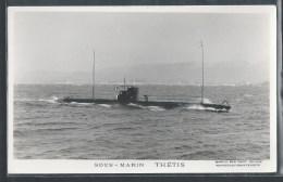- PHOTO BATEAUX - Sous-Marin Thétis - Unterseeboote