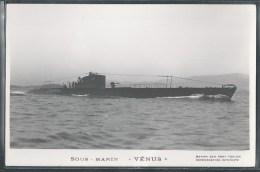 - PHOTO BATEAUX - Sous-Marin Vénus - Unterseeboote