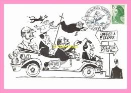 CPM   SAINT JUST LE MARTEL 6eme salon international du dessin   humoristique , dessin de SOLE