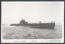 - PHOTO BATEAUX - Sous-Marin Sfax - Unterseeboote