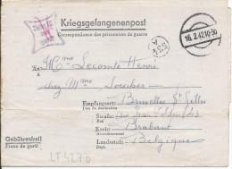 LT4270 Correspondance Des Prisonniers De Guerre, A L´interieur 3 Volets D´écriture - War 1939-45
