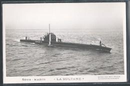 - CARTE PHOTO BATEAUX - Sous-Marin La Sultane - Unterseeboote