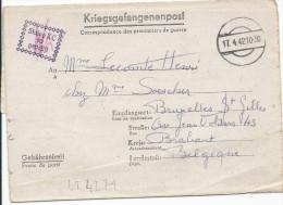 LT4271 Correspondance Des Prisonniers De Guerre, A L´interieur 3 Volets D´écriture - Guerre 1939-45