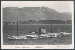 - PHOTO BATEAUX - Sous-Marin Circé - Unterseeboote