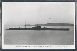 - PHOTO BATEAUX - Sous-Marin Le Conquérant - Unterseeboote