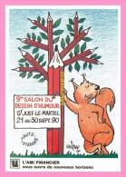 CPM   SAINT JUST LE MARTEL   9eme salon international du dessin d humoristique