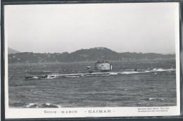 - PHOTO BATEAUX - Sous-Marin Caiman - Unterseeboote