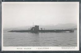 - PHOTO BATEAUX - Sous-Marin Calypso - Unterseeboote