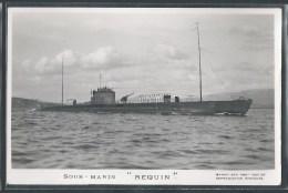 - CARTE PHOTO BATEAUX - Sous-Marin Requin - Unterseeboote