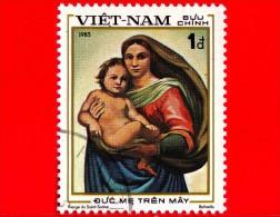 VIETNAM - Viet Nam - 1983 - 500 Anni Della Nascita Di Raffaello (1483-1520), Pittore - Madonna Sistina - 1 - Vietnam