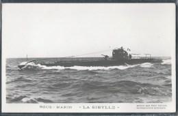 - PHOTO BATEAUX - Sous-Marin La Sibylle - Unterseeboote