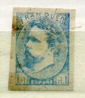 ESPAGNE -  CARLISTES - 1873 - Numéro 1 - 1 TIMBRE ANCIEN NEUF - Carlistes