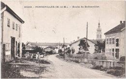 54. FENNEVILLER. Route De Badonviller. 25256 - Francia