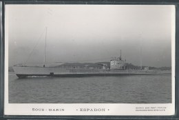 - PHOTO BATEAUX - Sous-Marin Espadon - Unterseeboote