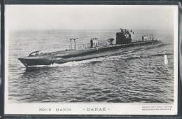 - PHOTO BATEAUX - Sous-Marin Danaë - Unterseeboote
