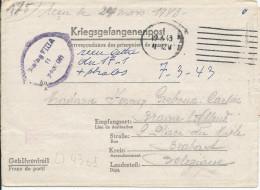 LT4301   Correspondance Des Prisonniers De Guerre, A L´interieur 3 Volets D´écriture - War 1939-45