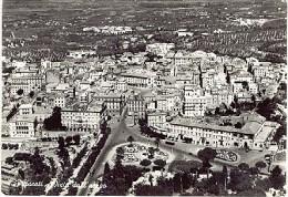 ROMA FRASCATI VISTA DALL'AEREO 1956 - LF43 - Italia