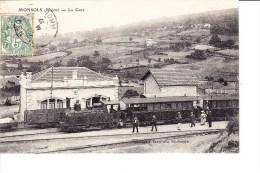Monsols - Bahnhöfe Mit Zügen