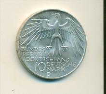 10 Mark - Silber - Olympische Spiele München - 1972 - [ 7] 1949-…: BRD