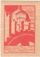 ERINNOFILO VIGNETTA CINDERELLA - MANTOVA 1921 ESPOSIZIONE AGRICOLA INDUSTRIALE - Cinderellas