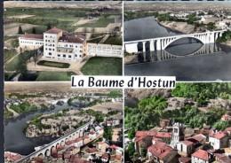 26 - EN AVION AU DESSUS DE ... LA BAUME D'HOSTUN - Frankreich